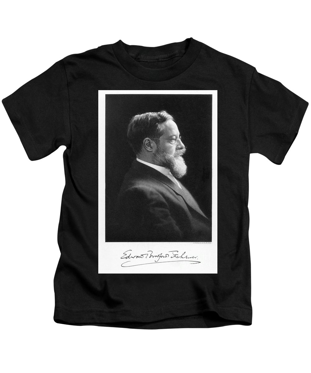 19th Century Kids T-Shirt featuring the photograph Edward B. Titchener by Granger