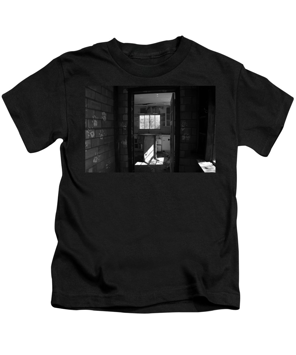 Hand Prints Kids T-Shirt featuring the photograph Hands Of Time by David Lee Thompson