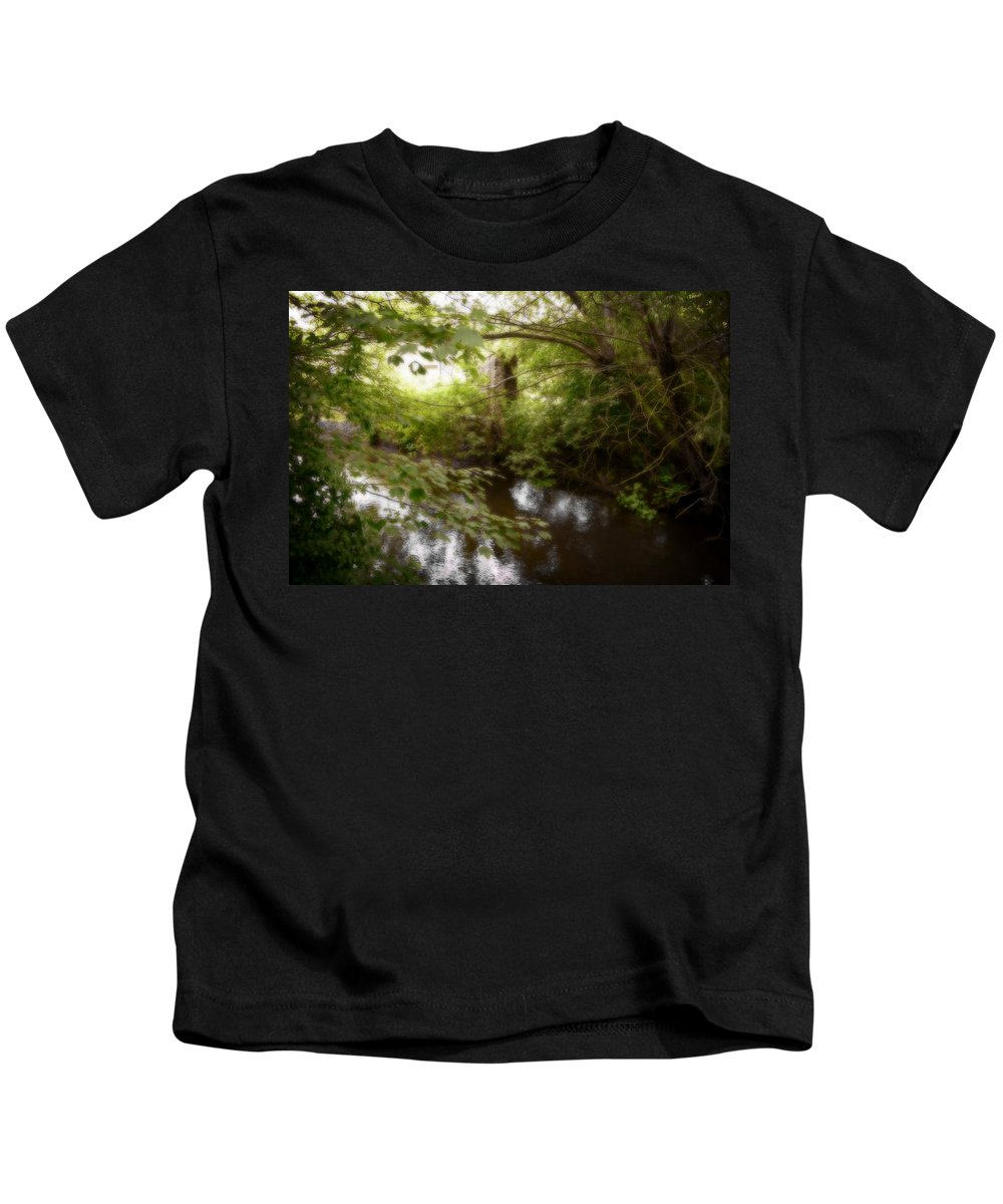 Landscape Kids T-Shirt featuring the photograph Enchanted Castle by Doc Braham