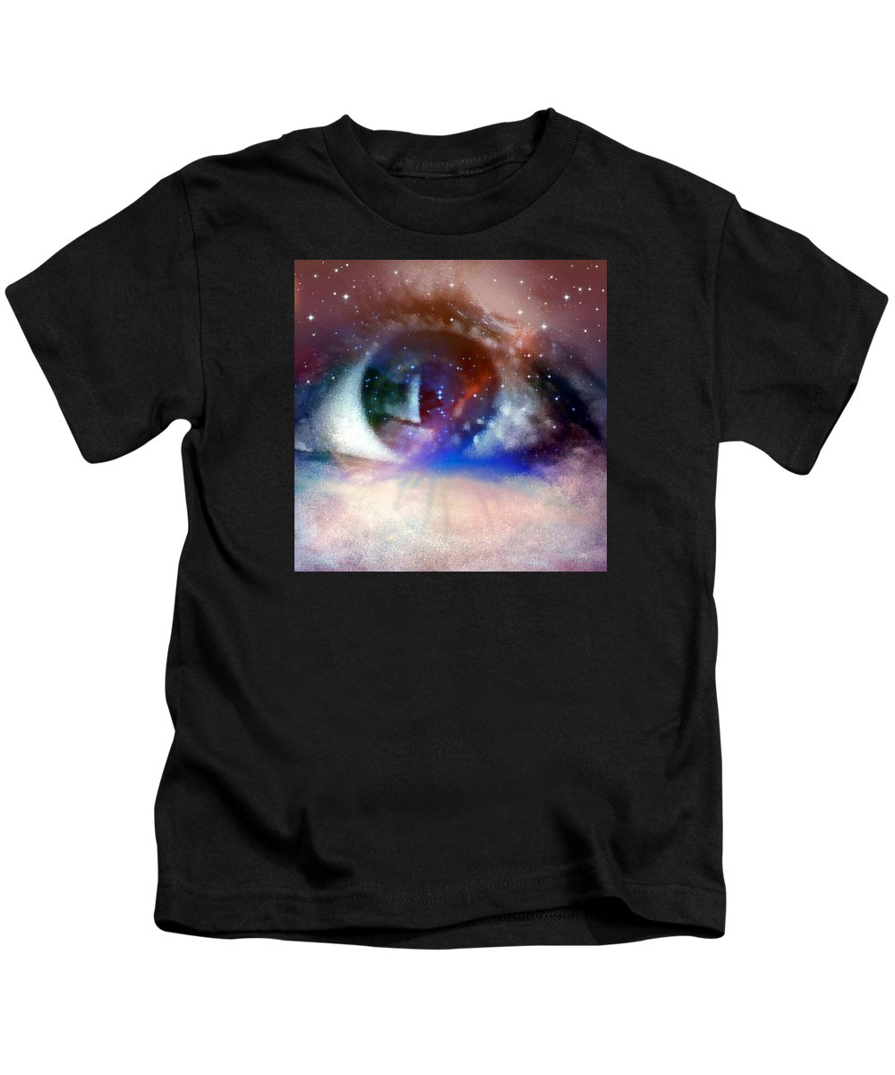 Abstract Kids T-Shirt featuring the photograph Enlightened by Amy-Elizabeth Toomey