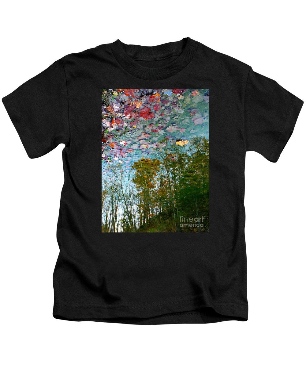 Autumn Kids T-Shirt featuring the photograph Fall Sky by Chris Sotiriadis