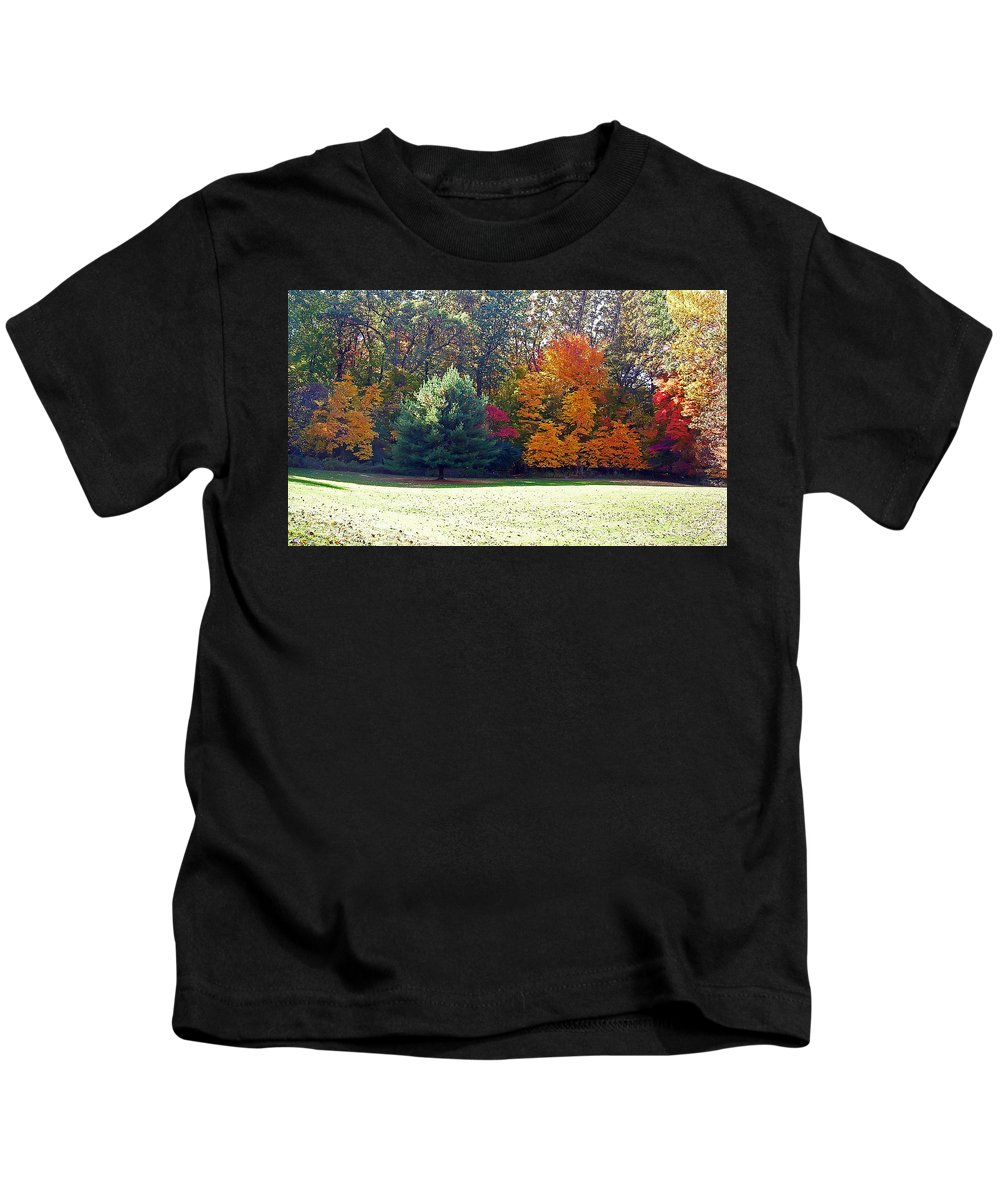 Autumn Kids T-Shirt featuring the photograph Fantastic Fall by Aimee L Maher ALM GALLERY