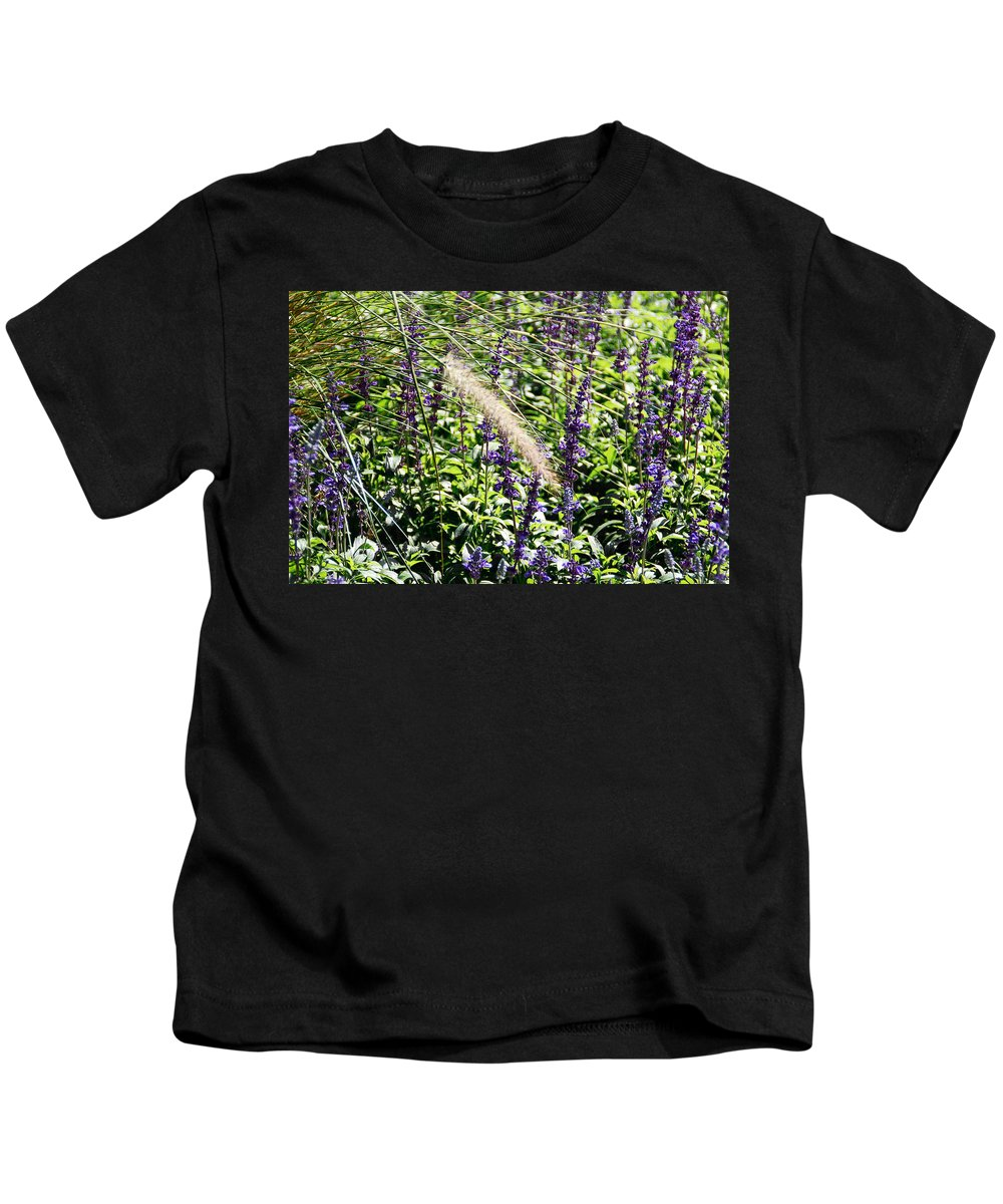 Plant Kids T-Shirt featuring the photograph Feather In The Crowd by Aimee L Maher ALM GALLERY