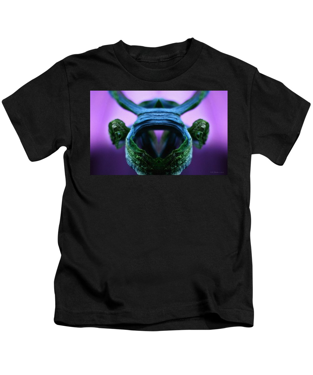 Kids T-Shirt featuring the photograph Feeder by WB Johnston