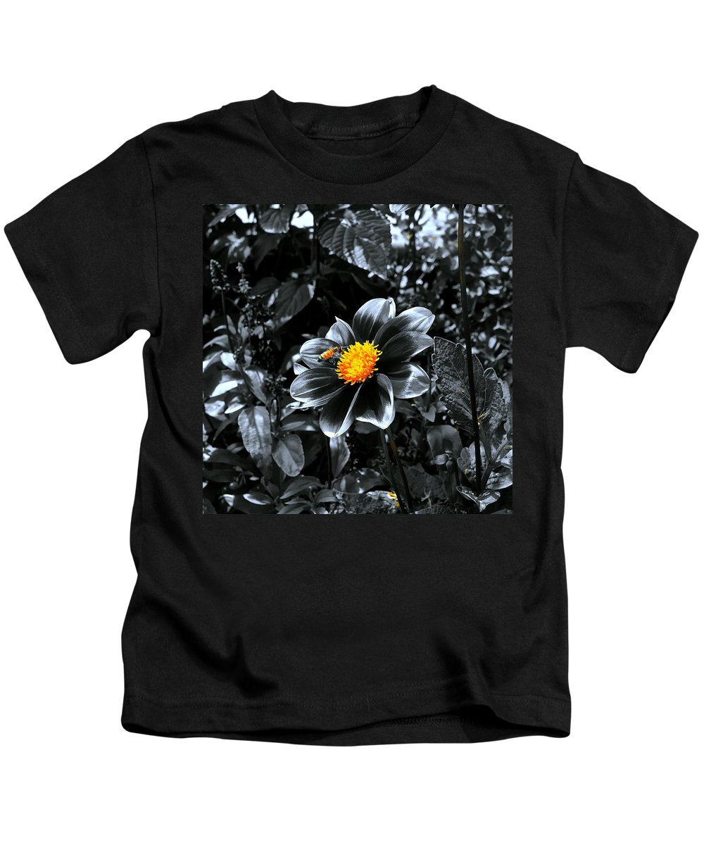 Gardens Kids T-Shirt featuring the photograph Finding The Pot Of Gold by Tim G Ross