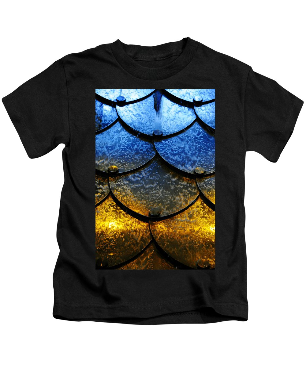 Skip Hunt Kids T-Shirt featuring the photograph Fire And Ice by Skip Hunt
