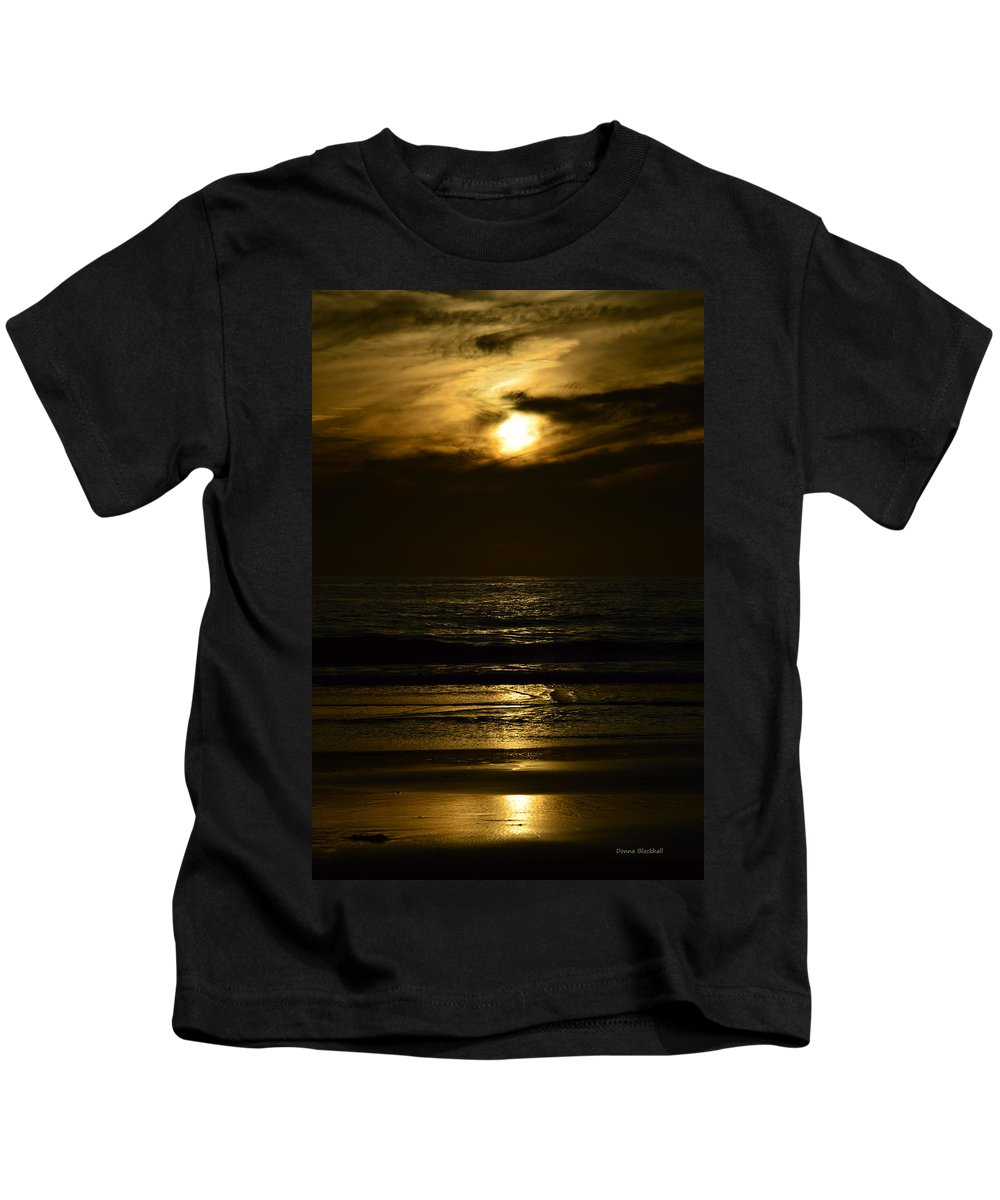 Day Kids T-Shirt featuring the photograph First Day by Donna Blackhall