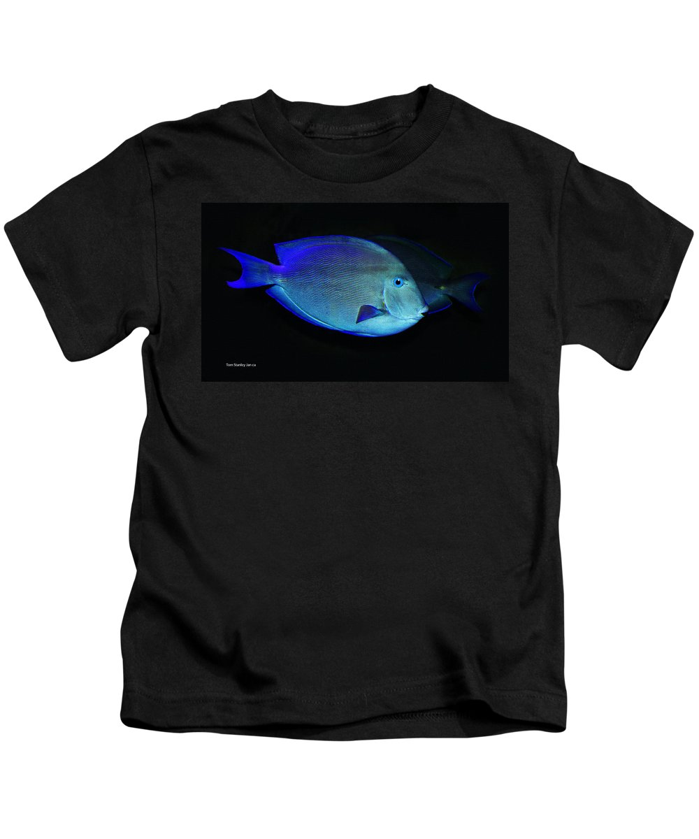 Fish Not For Dinner Kids T-Shirt featuring the photograph Fish Not For Dinner by Tom Janca