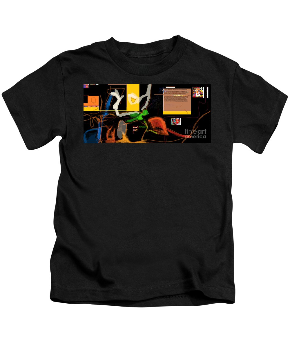 Kids T-Shirt featuring the digital art Fixing Space 1d by David Baruch Wolk