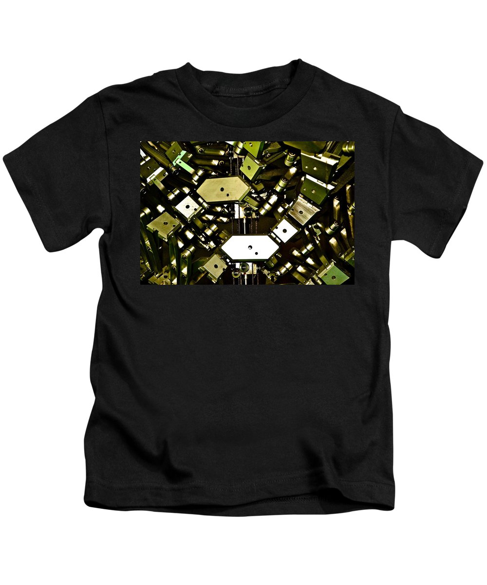 Flex Kids T-Shirt featuring the photograph Flex 4 by Charlie Brock