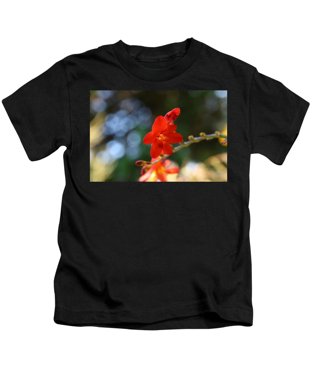 Flower Kids T-Shirt featuring the photograph Floral Bokeh by Neal Eslinger