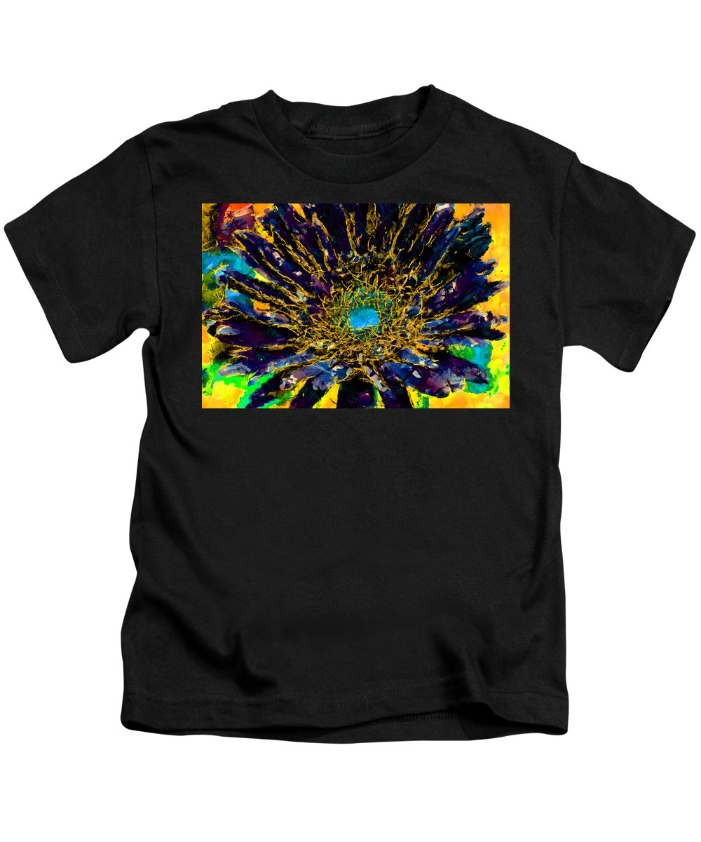 Kids T-Shirt featuring the photograph Floral Revolution 3 by Angelina Vick