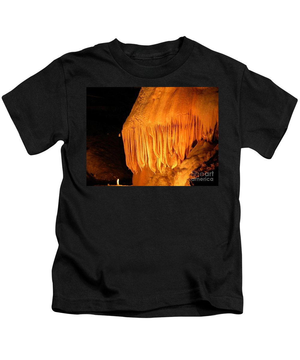 Flow Kids T-Shirt featuring the photograph Flow Stone by Nathanael Smith