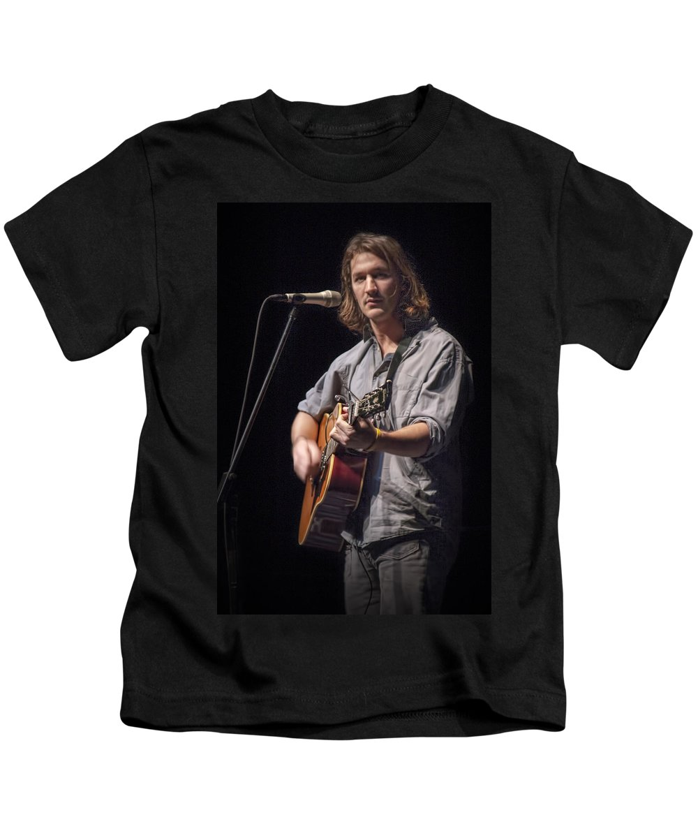 Art Kids T-Shirt featuring the photograph Folk Singer Griffen House by Randall Nyhof