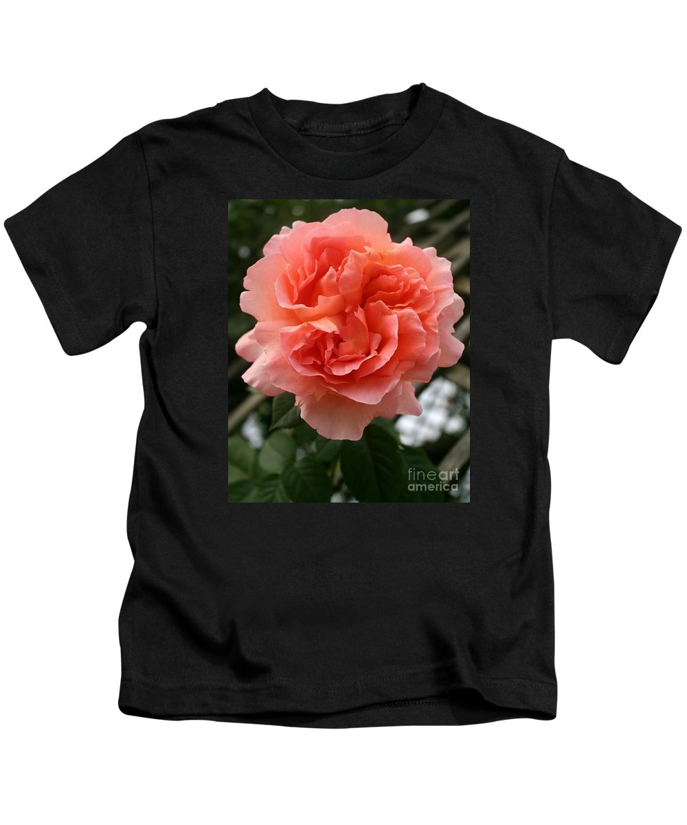 Rose Kids T-Shirt featuring the photograph Formidable Bloom by Christiane Schulze Art And Photography