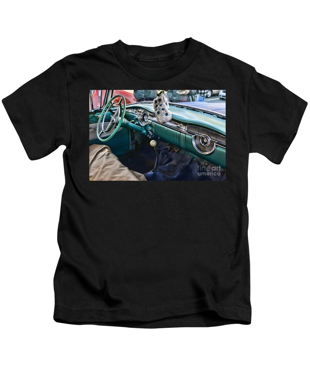 Paul Ward Kids T-Shirt featuring the photograph Four On The Floor by Paul Ward