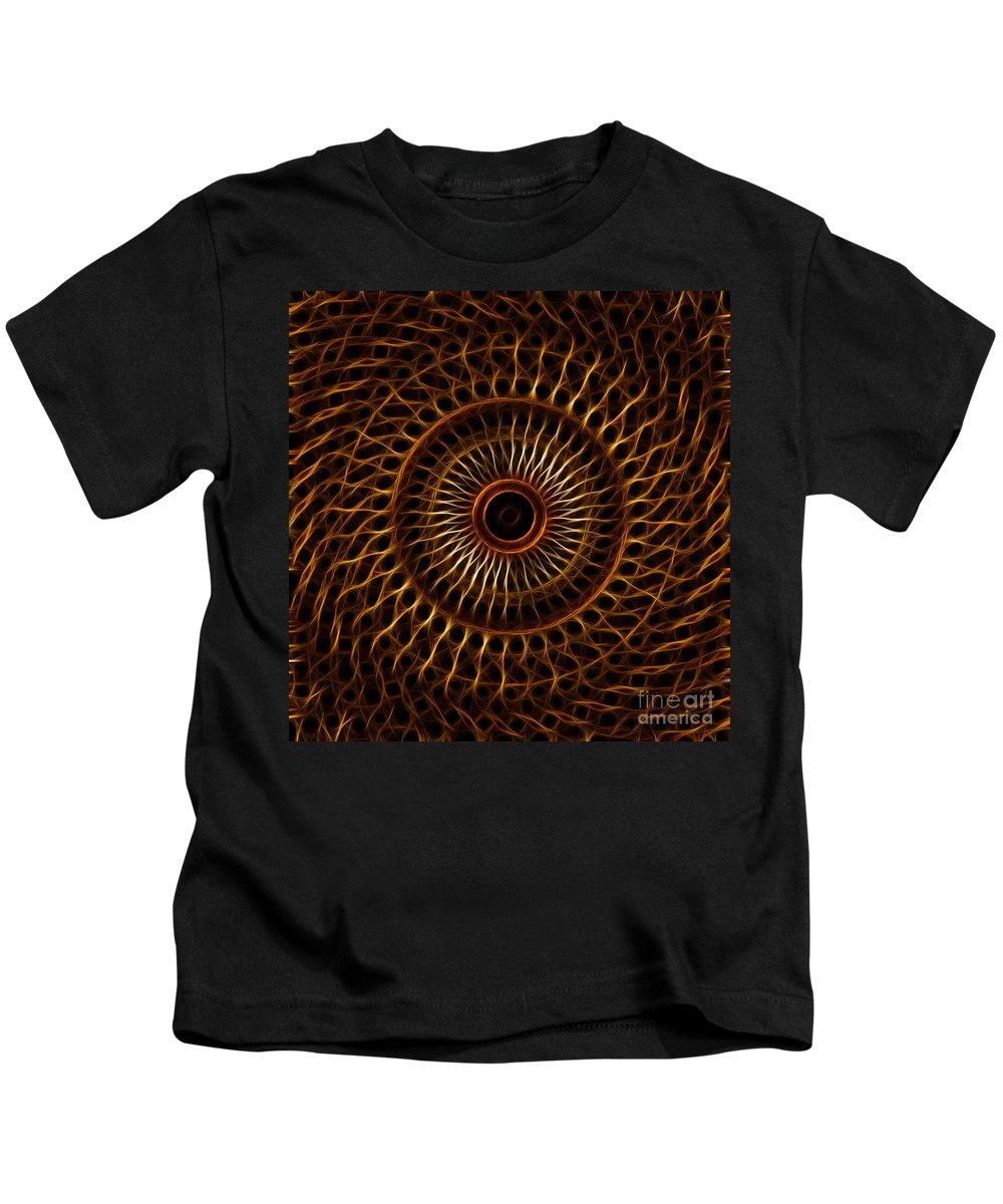 Fractal Kids T-Shirt featuring the digital art Fractal Design by Image World