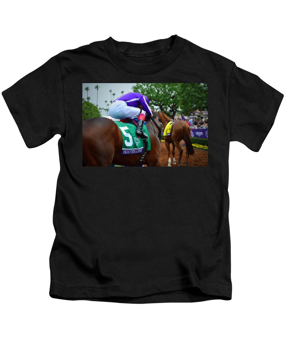 Frankie Goes Hollywood Kids T-Shirt featuring the photograph Frankie Goes Hollywood by See My Photos