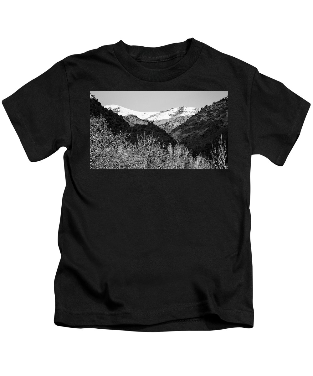 Morocco Kids T-Shirt featuring the photograph Fresh Snow by David Resnikoff
