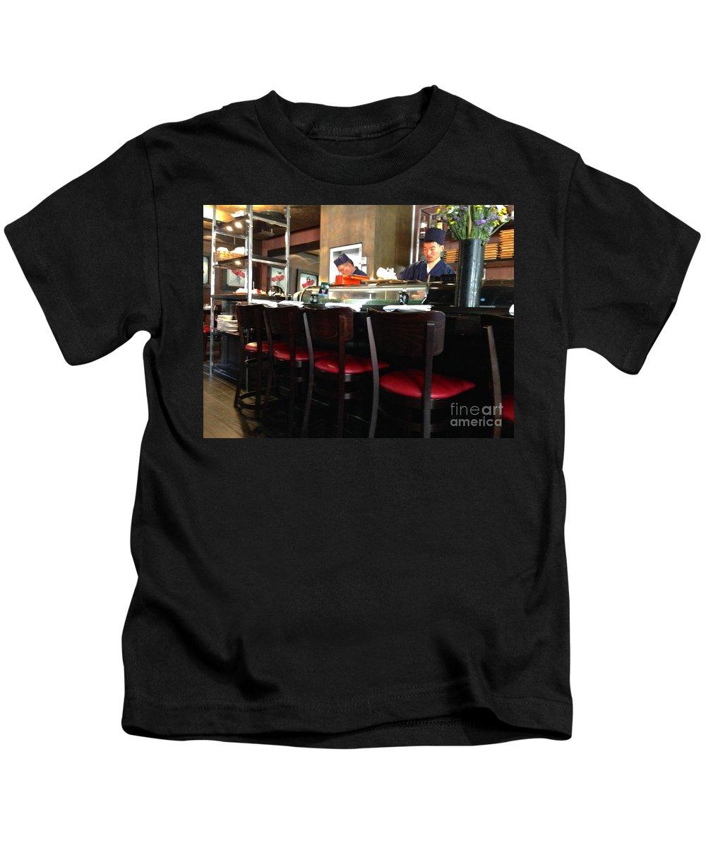 Sushi Kids T-Shirt featuring the photograph Fresh Sushi by Christy Gendalia