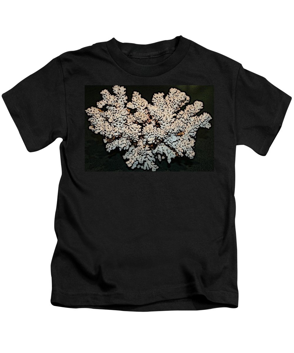 Coral Kids T-Shirt featuring the photograph From The Sea by Barbara S Nickerson