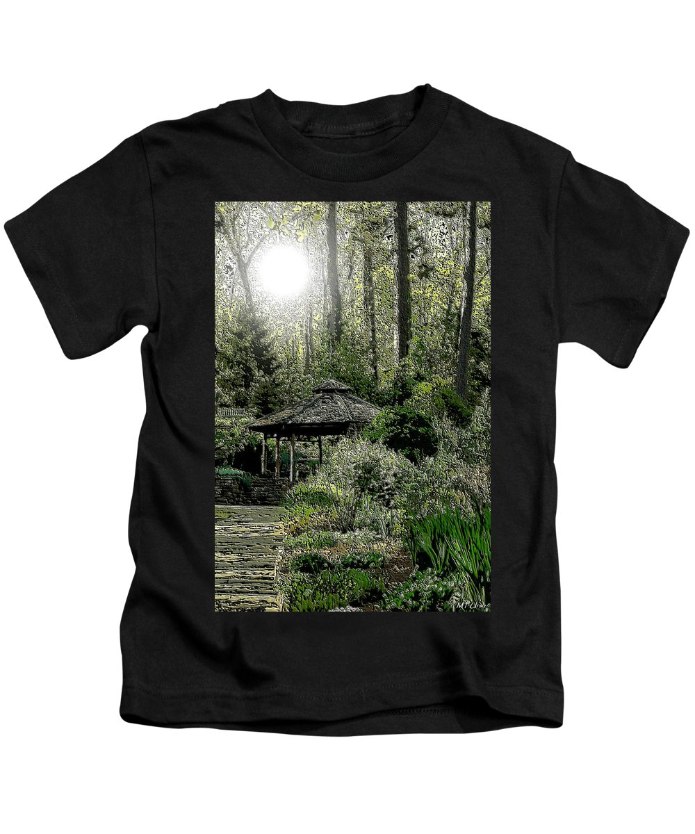 From Whence The Light Came Kids T-Shirt featuring the digital art From Whence The Light Came by Maria Urso