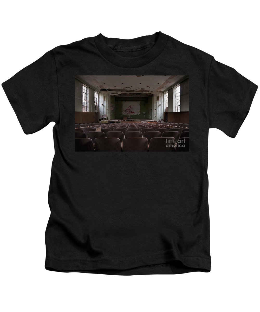 Bennett College Kids T-Shirt featuring the photograph Front And Center by Rick Kuperberg Sr