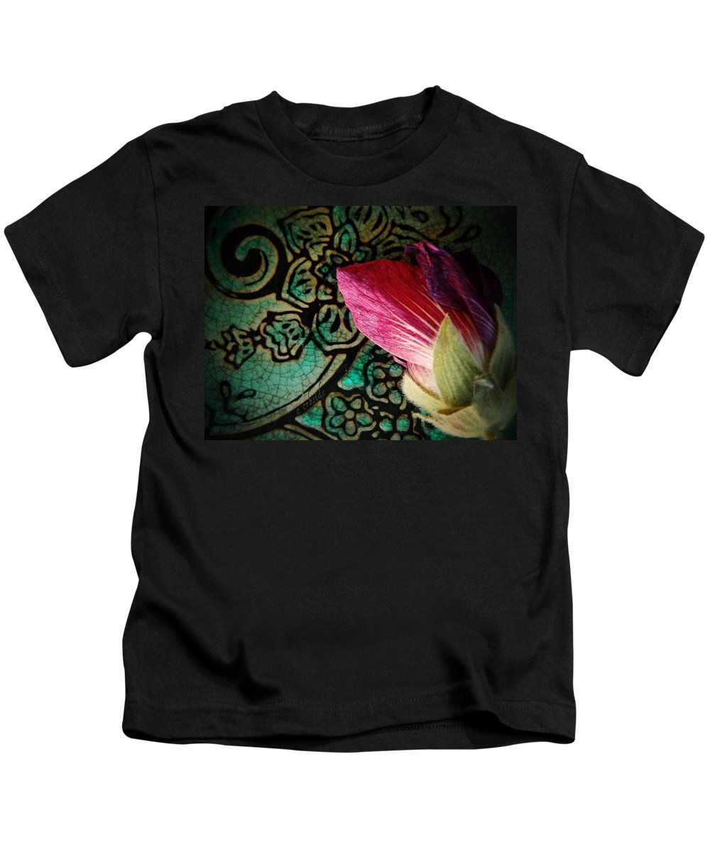 Bud Kids T-Shirt featuring the photograph Frost Bit by Chris Berry