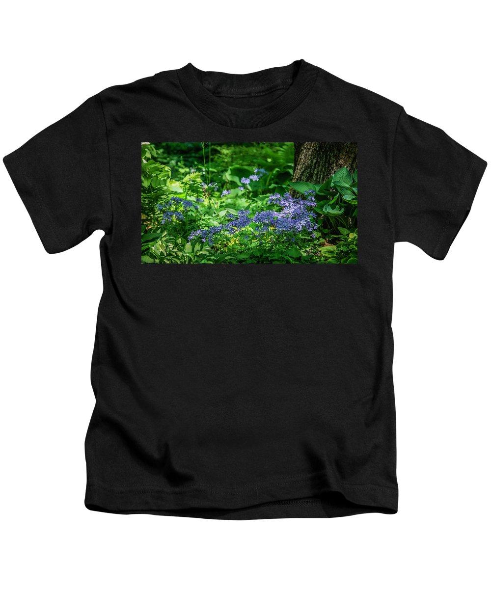 Flower Kids T-Shirt featuring the photograph Garden Flox by Jane Luxton