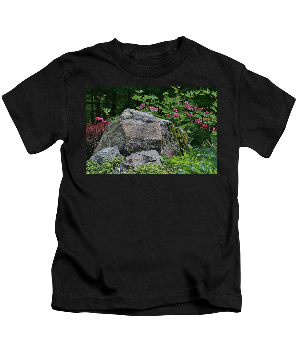 Garden Kids T-Shirt featuring the photograph Garden Of Choice by Barbara S Nickerson