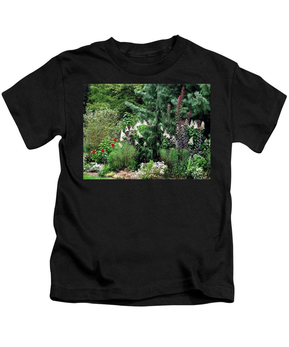 Garden Kids T-Shirt featuring the photograph Garden Spread by Deborah Crew-Johnson