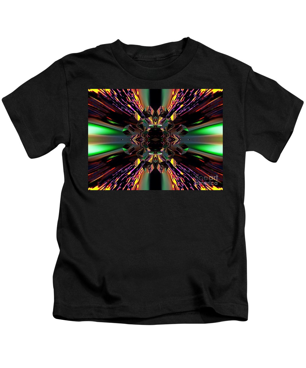 Angel Kids T-Shirt featuring the digital art Garnet by Raymel Garcia