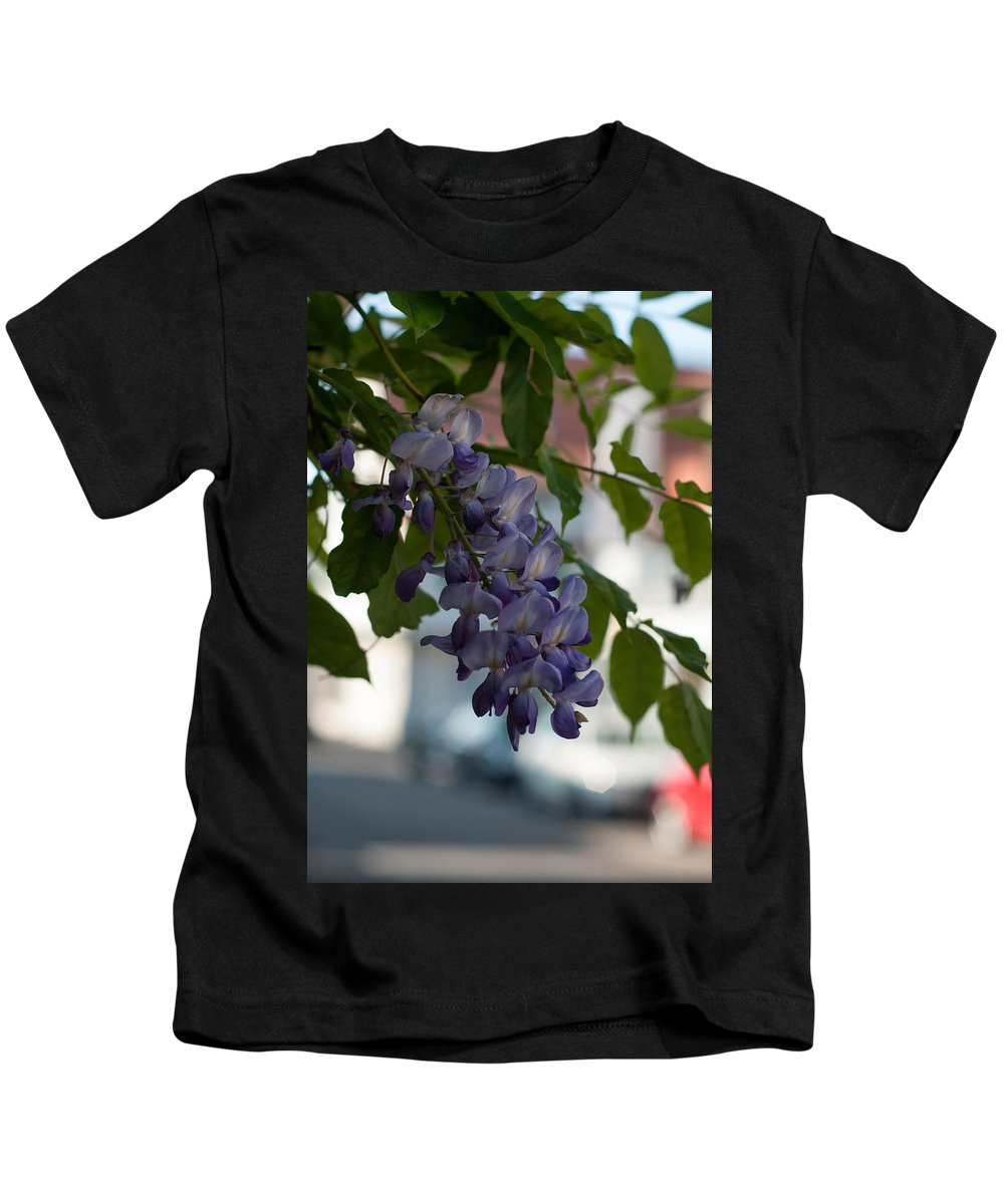 Miguel Kids T-Shirt featuring the photograph Gentle Summer Breeze by Miguel Winterpacht