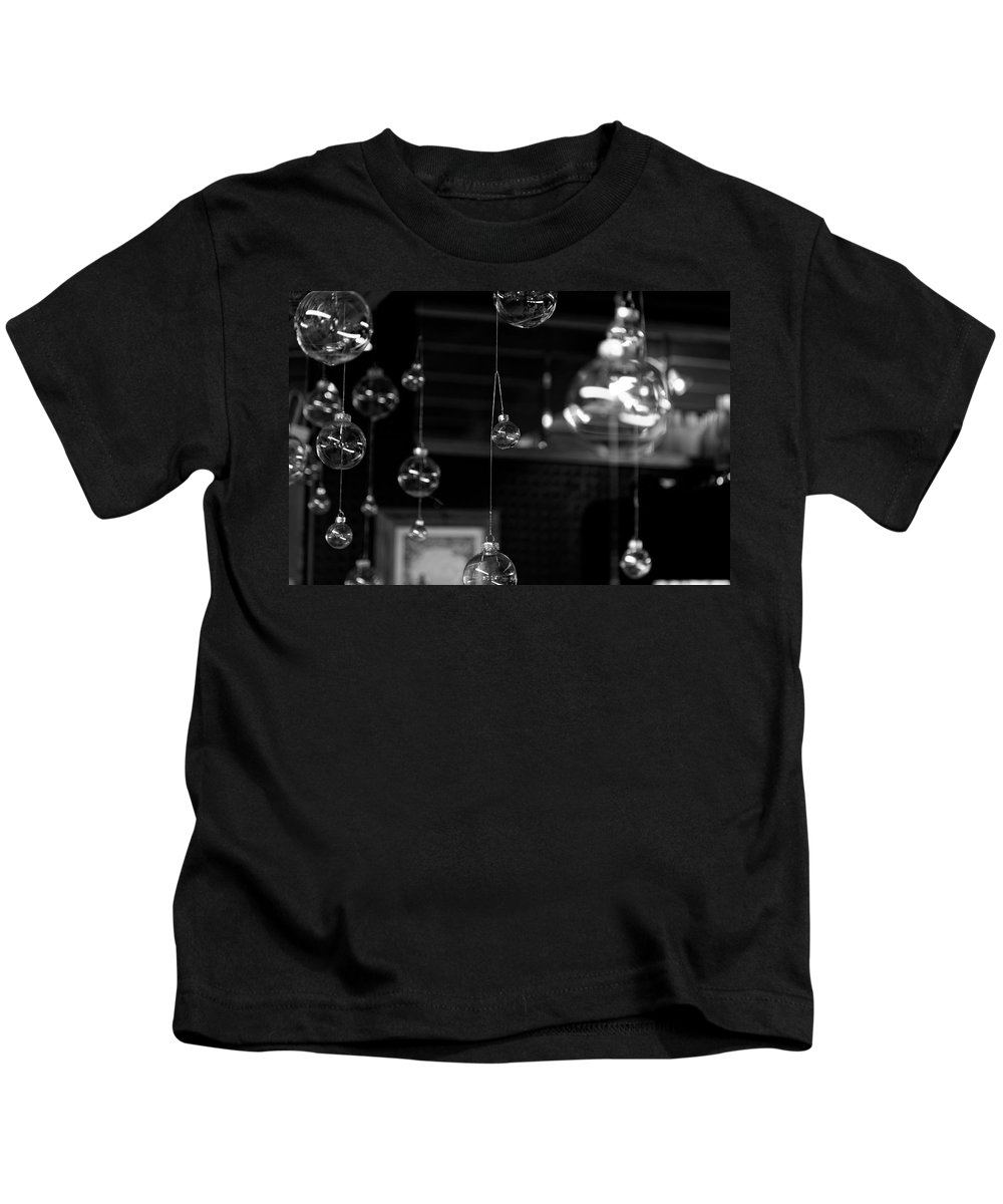 Glass Ornaments Kids T-Shirt featuring the photograph Glass Ornaments by Scott Hill
