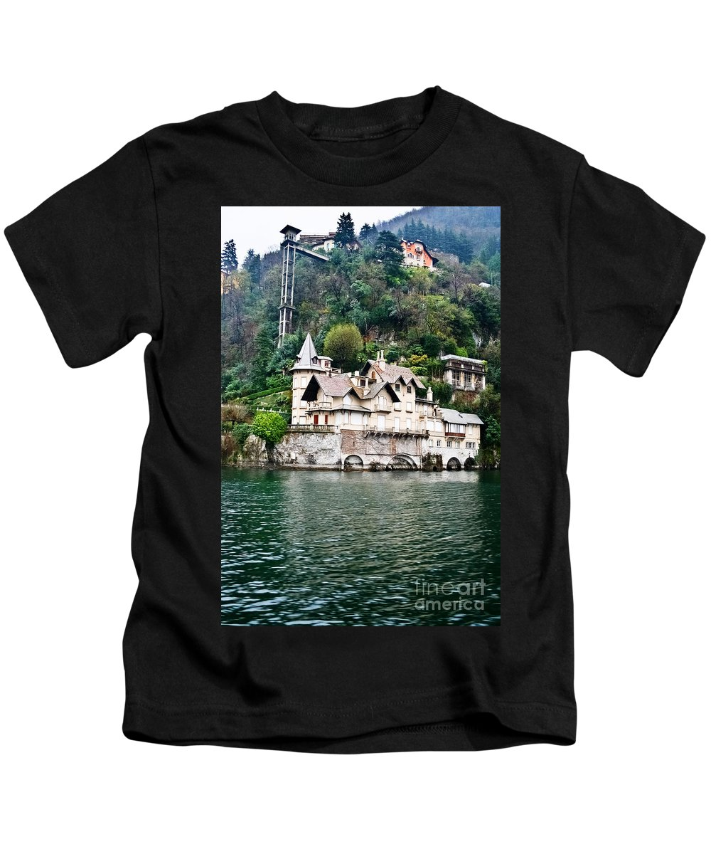 Travel Kids T-Shirt featuring the photograph Going Down by Elvis Vaughn