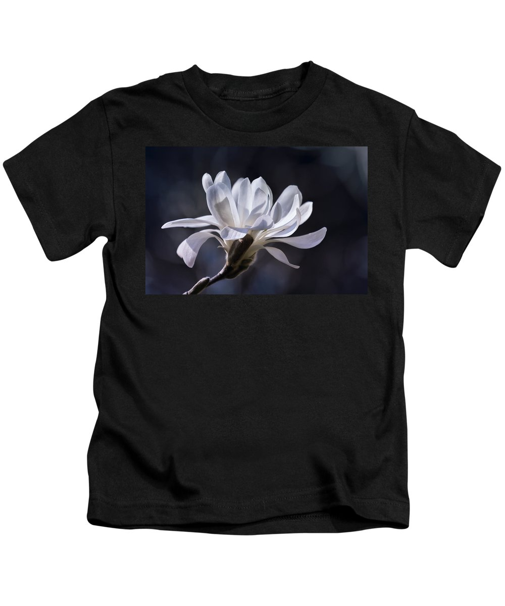 Star Magnolia Kids T-Shirt featuring the photograph Grace - No. 2 by Belinda Greb