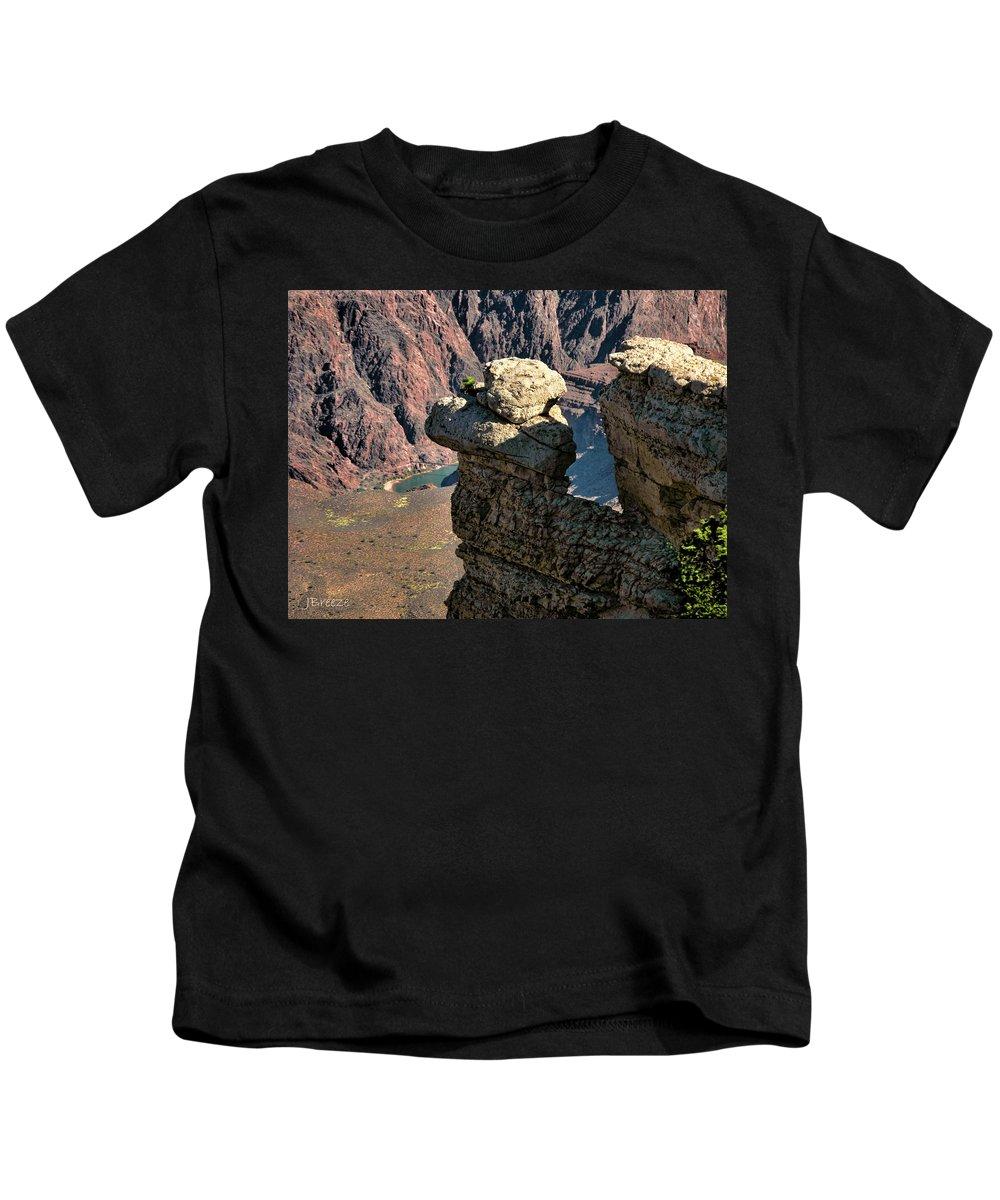 Az Kids T-Shirt featuring the photograph Grand Canyon. Az by Jennie Breeze
