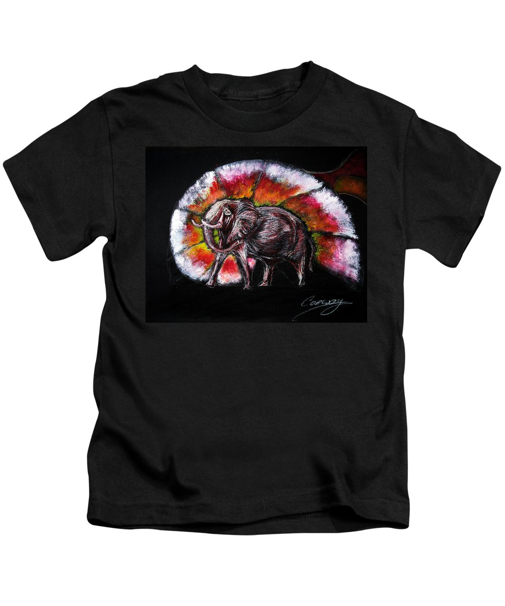 Wild Kids T-Shirt featuring the drawing Grand Designs For Life On Earth by Tom Conway