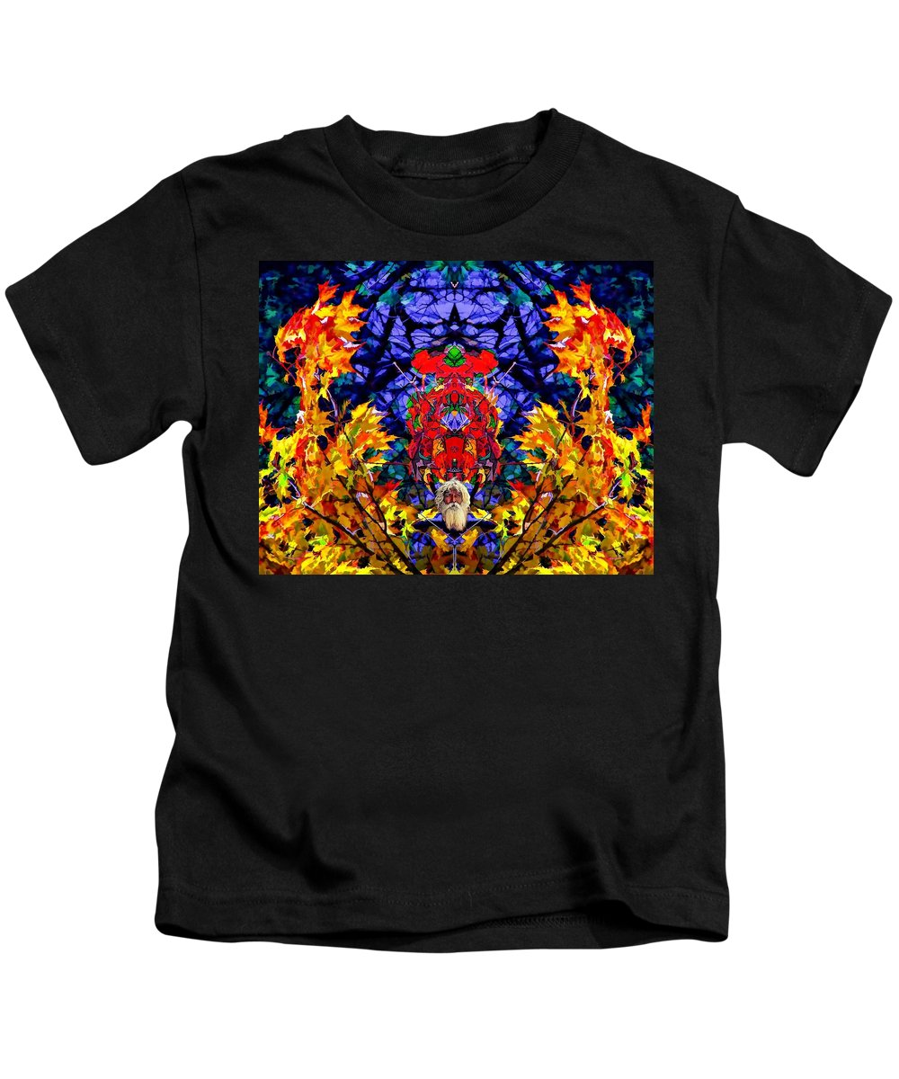 Color Kids T-Shirt featuring the photograph Hall Of The Color King by Steve Harrington
