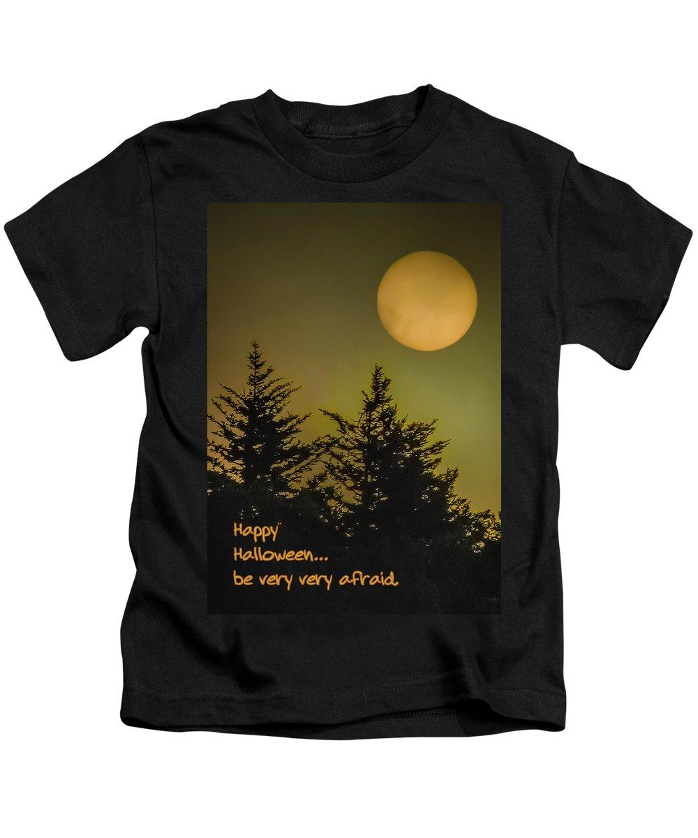 Christmas Kids T-Shirt featuring the photograph Halloween by Joye Ardyn Durham