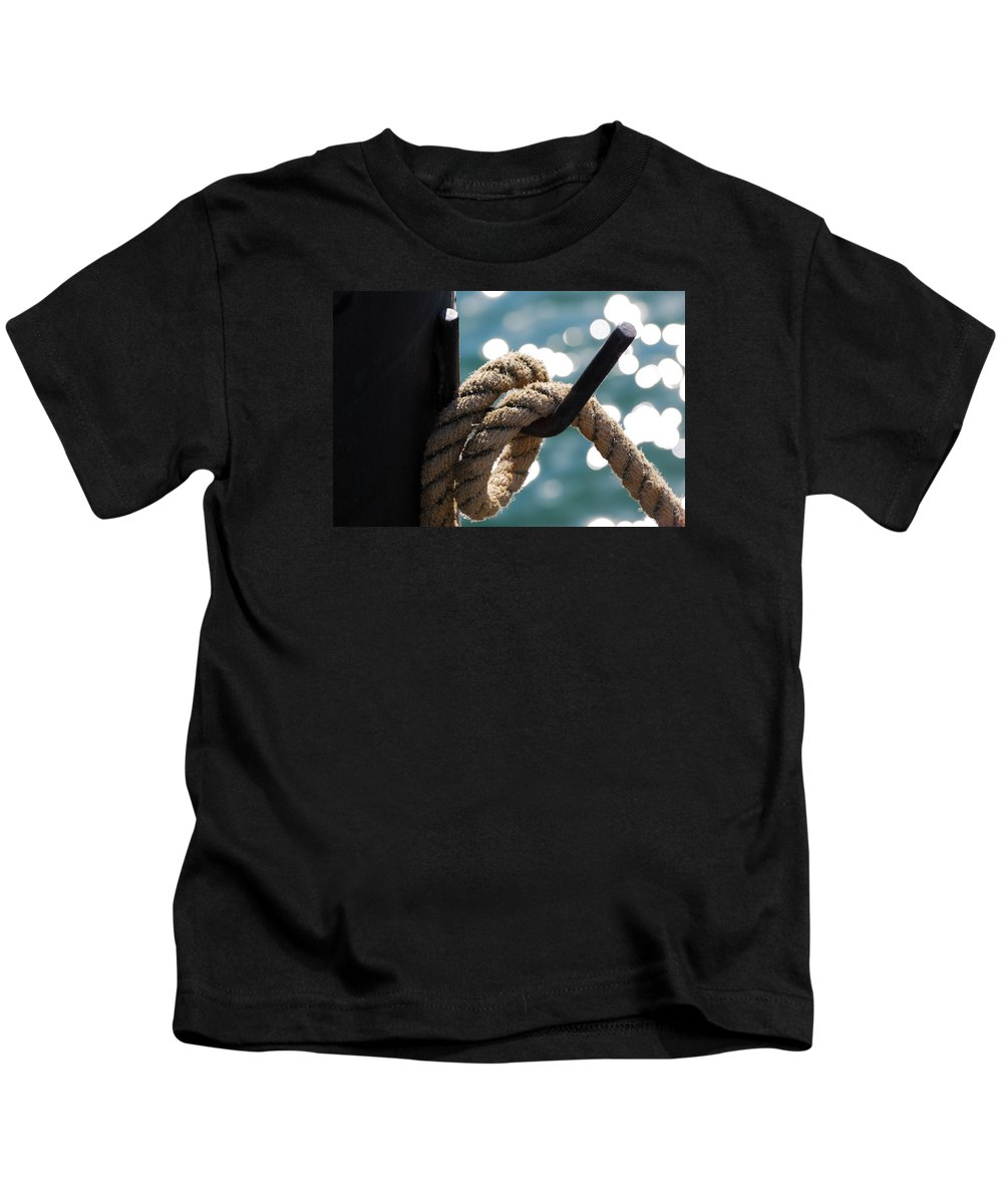 Hanging Loose Kids T-Shirt featuring the photograph Hanging Loose by Wendy Wilton