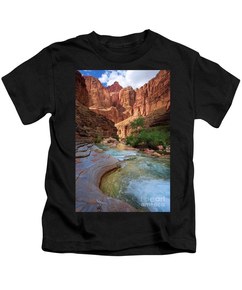 Clear Creek Canyon Photographs Kids T-Shirts