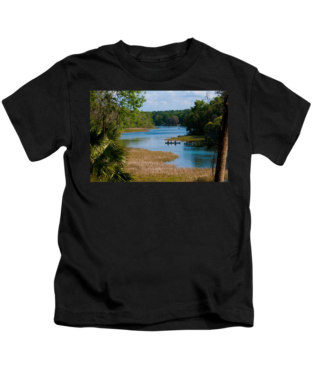Head Kids T-Shirt featuring the photograph Head Springs by Photos By Cassandra