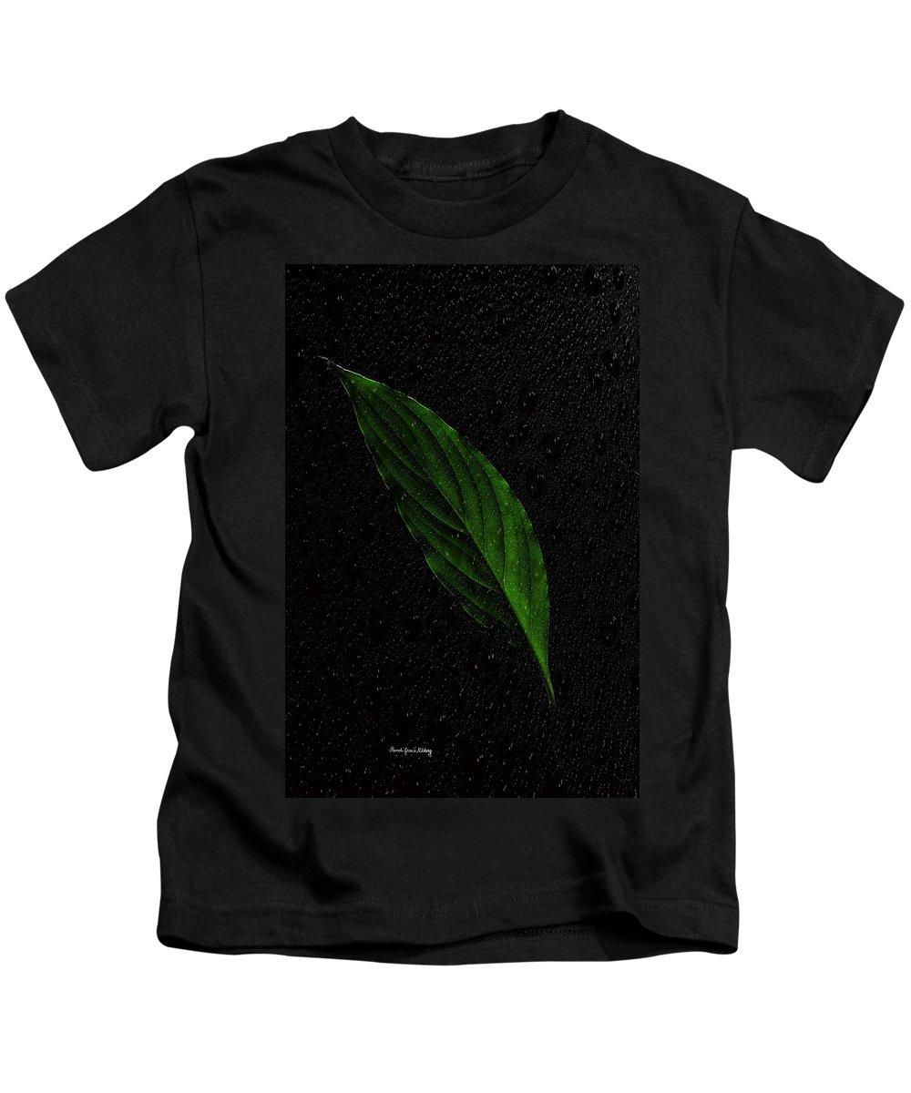 Life Kids T-Shirt featuring the photograph Healthy Green by Randi Grace Nilsberg