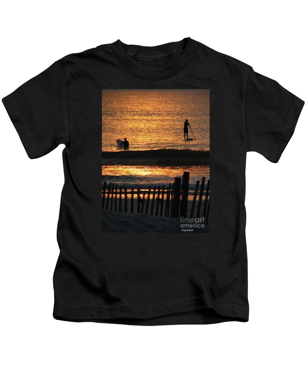Art For The Wall...patzer Photography Kids T-Shirt featuring the photograph Here Comes The Sun by Greg Patzer