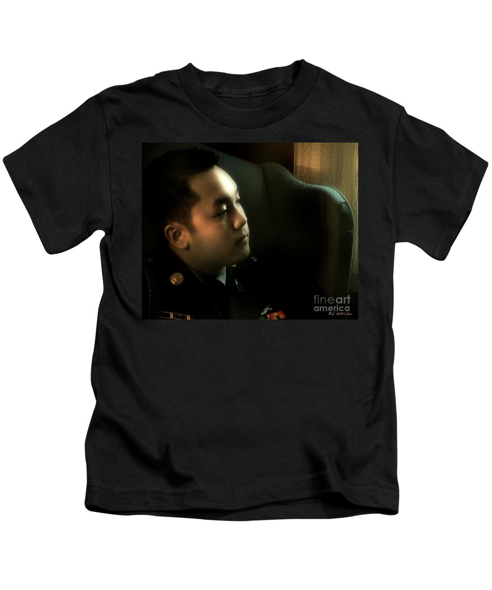 Man Kids T-Shirt featuring the photograph Home For Christmas by RC DeWinter