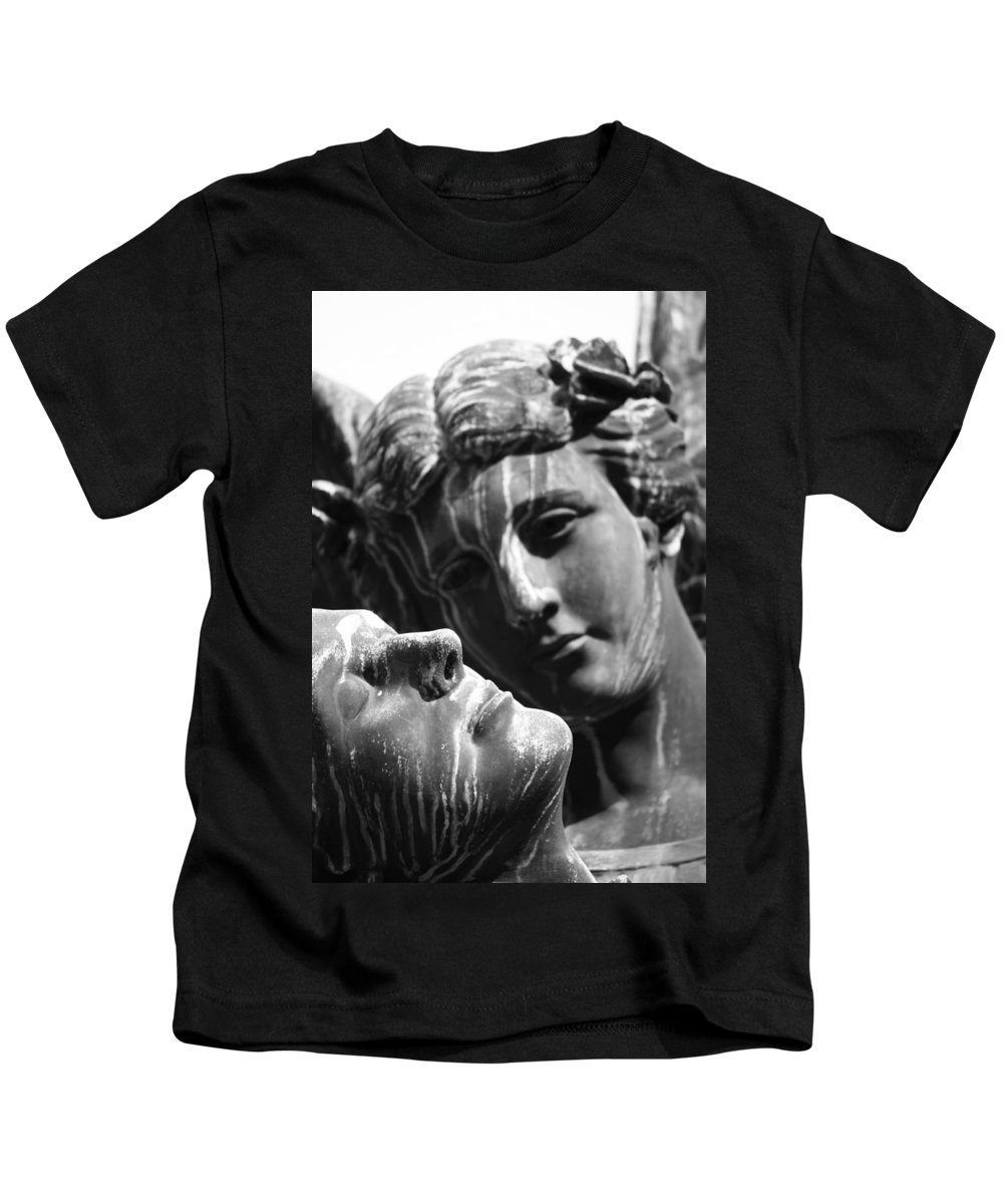 Street Photography Kids T-Shirt featuring the photograph I Loved Once by The Artist Project