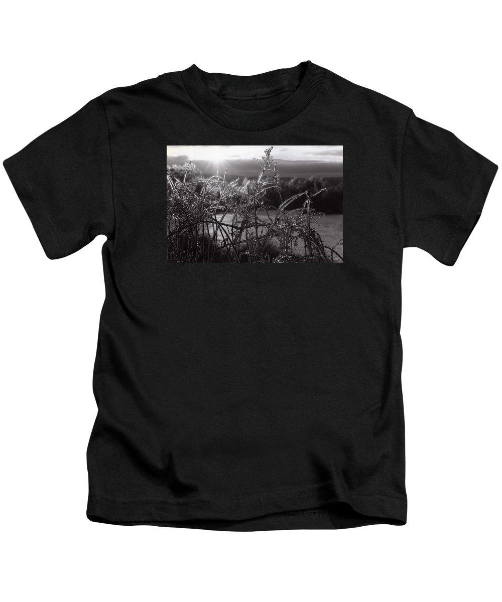 Sunrise Kids T-Shirt featuring the photograph Icerise by DJ Florek