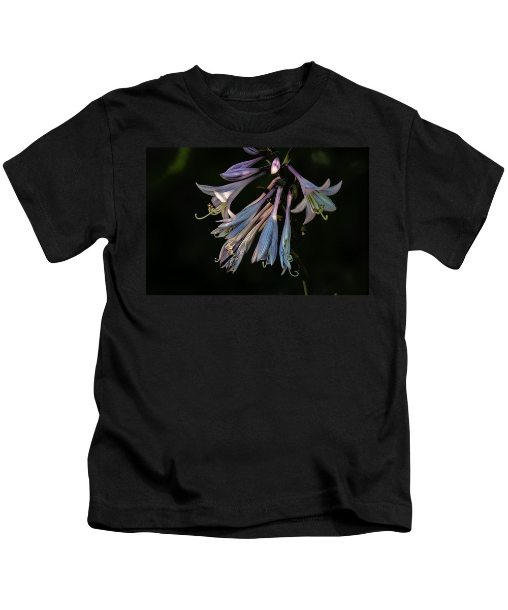 Hosta Kids T-Shirt featuring the photograph In The Shade Garden by Susan Capuano