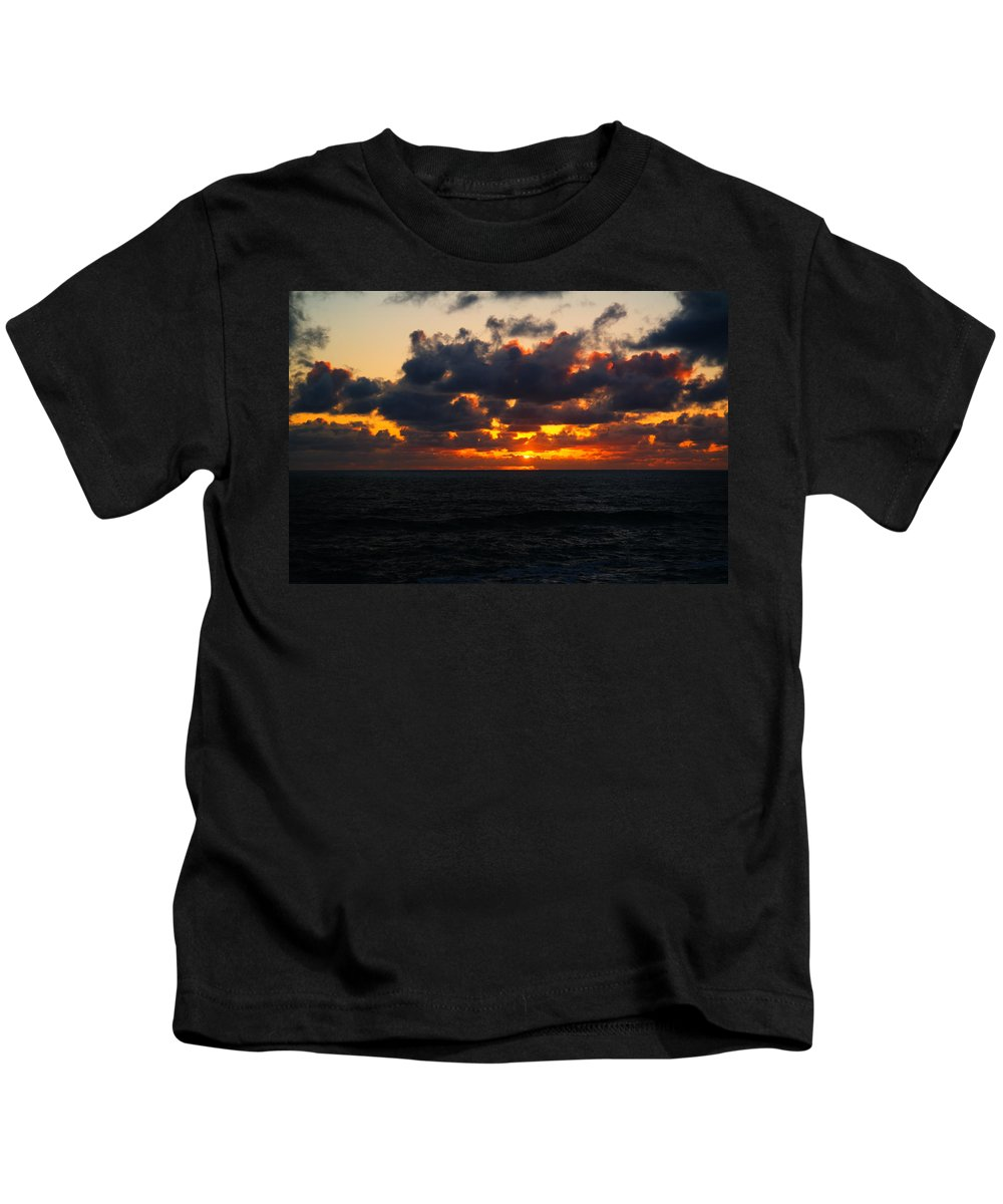 Ocean Kids T-Shirt featuring the photograph Inspiration by Jeff Swan